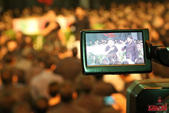 مراسم استقبال و وداع با شهید گمنام در رفسنجان (19)