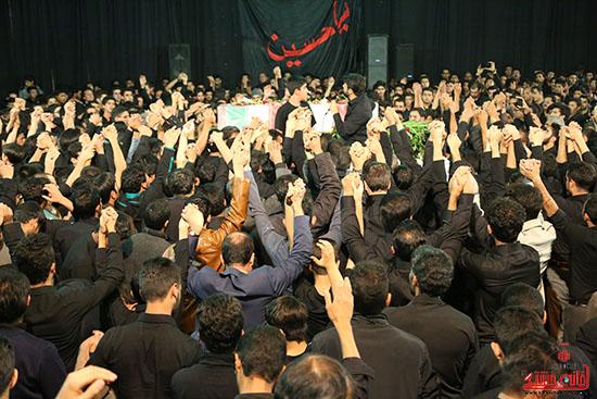 مراسم استقبال و وداع با شهید گمنام در رفسنجان (20)