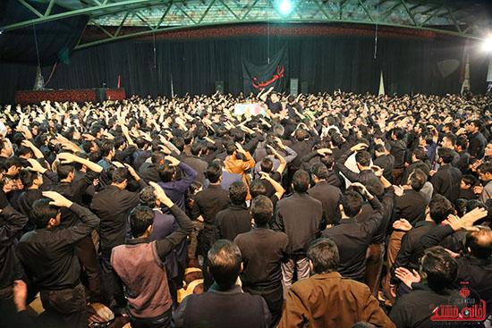 مراسم استقبال و وداع با شهید گمنام در رفسنجان (21)