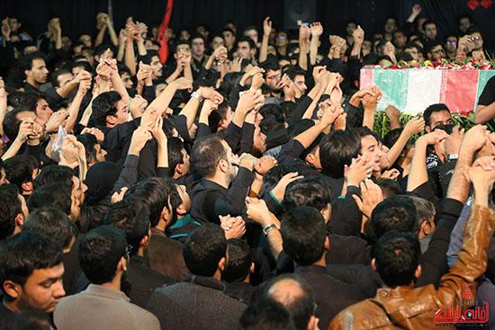 مراسم استقبال و وداع با شهید گمنام در رفسنجان (22)