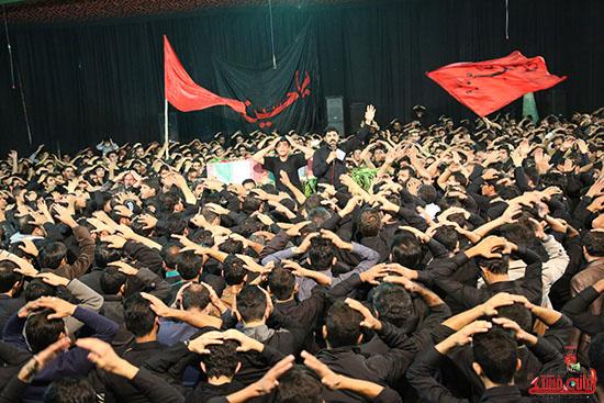 مراسم استقبال و وداع با شهید گمنام در رفسنجان (26)