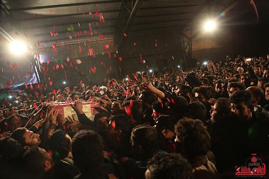 مراسم استقبال و وداع با شهید گمنام در رفسنجان (5)
