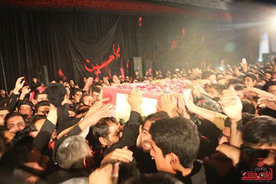 مراسم استقبال و وداع با شهید گمنام در رفسنجان (7)
