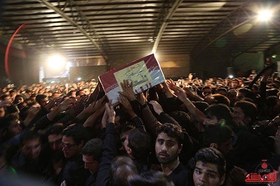 مراسم استقبال و وداع با شهید گمنام در رفسنجان (8)