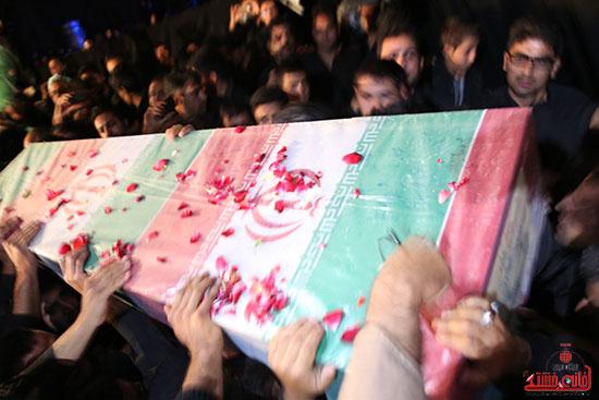 مراسم استقبال و وداع با شهید گمنام در رفسنجان (9)