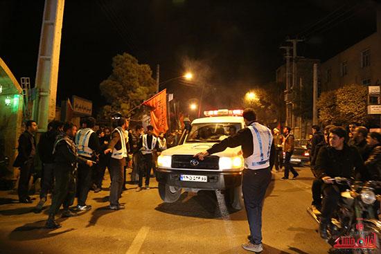 مراسم استقبال و وداع با شهید گمنام در رفسنجان