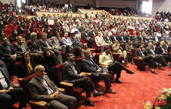 مراسم تودیع و معارفه رئیس دانشگاه ولیعصر رفسنجان3