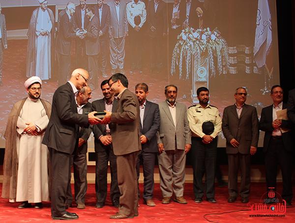 مراسم تودیع و معارفه رئیس دانشگاه ولیعصر رفسنجان7