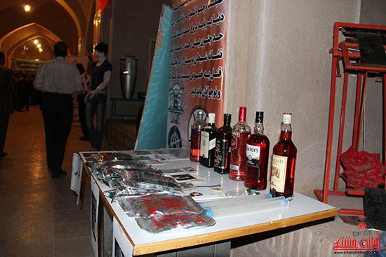 نمایشگاه آسیب های اجتماعی-رفسنجان-خانه خشتی (10)