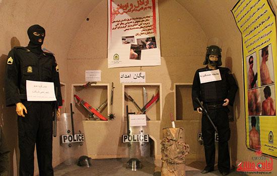 نمایشگاه آسیب های اجتماعی-رفسنجان-خانه خشتی (7)
