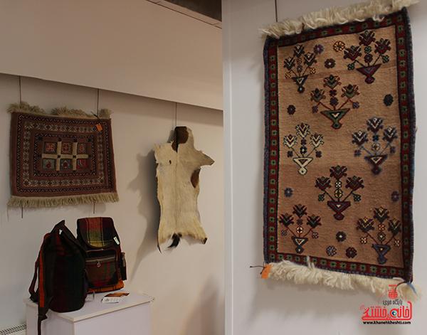 نمایشگاه محصولات گلیمی در رفسنجان10