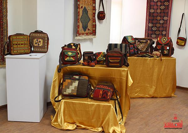 نمایشگاه محصولات گلیمی در رفسنجان3