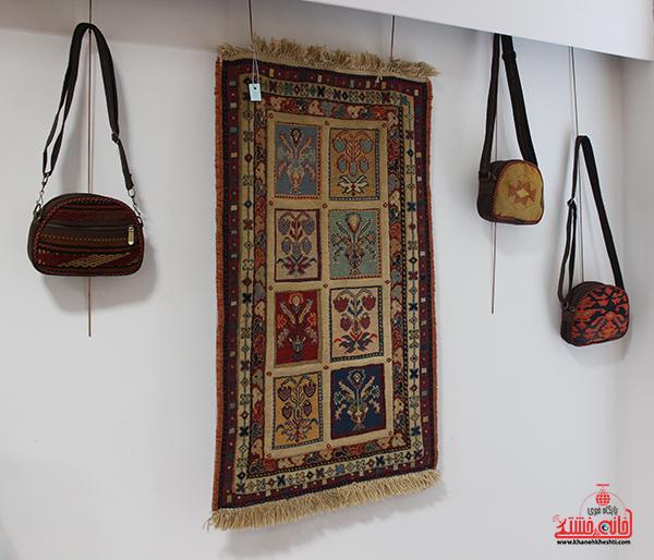نمایشگاه محصولات گلیمی در رفسنجان5