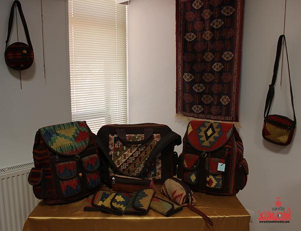 نمایشگاه محصولات گلیمی در رفسنجان8