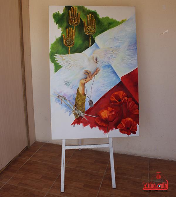 نمایشگاه هنرهای تجسمی در رفسنجان1