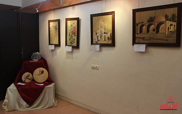 نمایشگاه هنرهای تجسمی در رفسنجان2