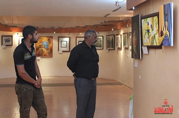نمایشگاه هنرهای تجسمی در رفسنجان3