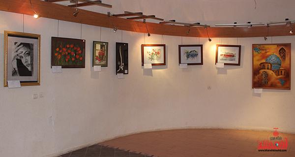 نمایشگاه هنرهای تجسمی در رفسنجان5