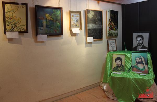 دوربین خانه خشتی در نمایشگاه هنرهای تجسمی رفسنجان