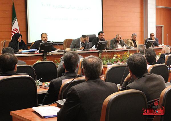 همایش روز استاندارد در فرمانداری رفسنجان