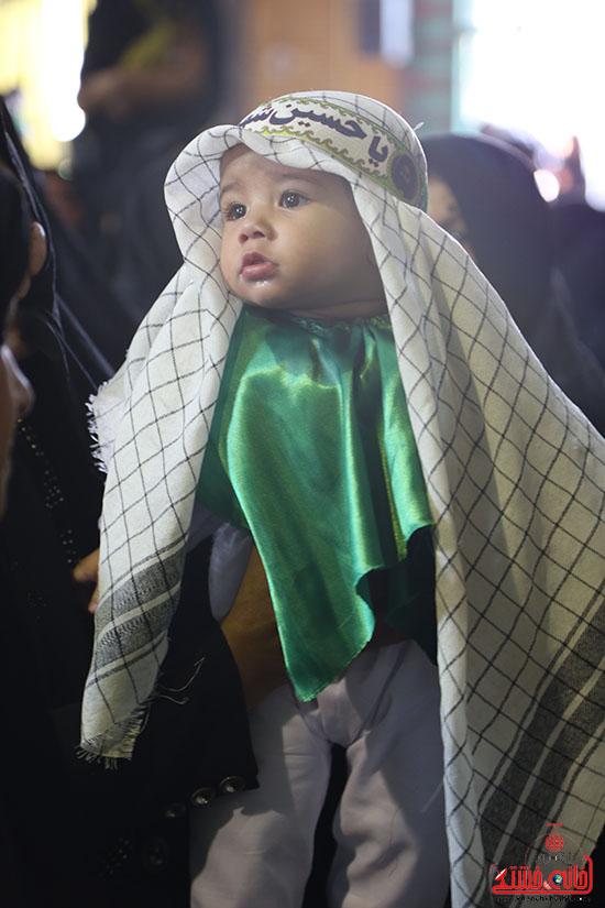همایش شیرخوارگان حسینی در رفسنجان-خانه خشتی (2)