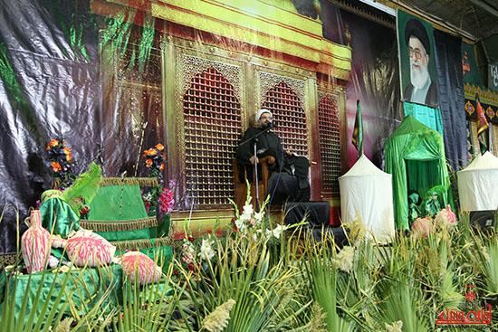 همایش شیرخوارگان حسینی در رفسنجان-خانه خشتی