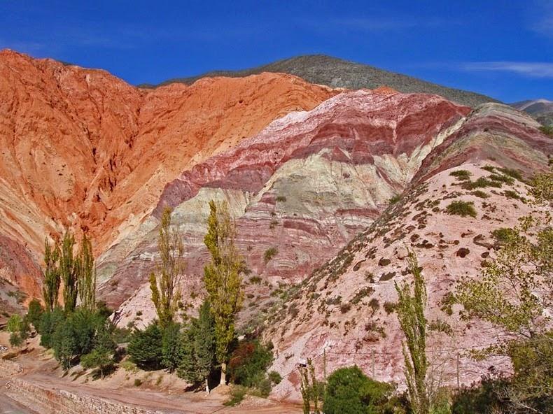 """""""تپه هفت رنگ"""" در آرژانتین + تصاویر"""