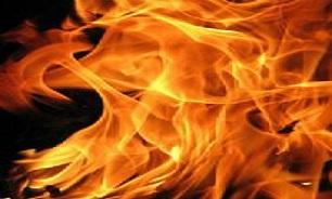 آتش انتقام پسر جوان دامداری پدر را سوزاند