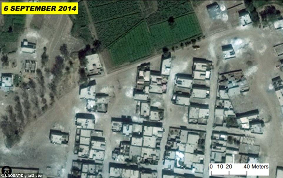 چهره کوبانی قبل و بعد از حمله داعش + تصویر