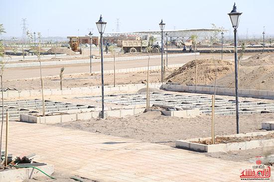 12 محرم الحرام بزرگترین آرامستان رفسنجان افتتاح می شود+عکس