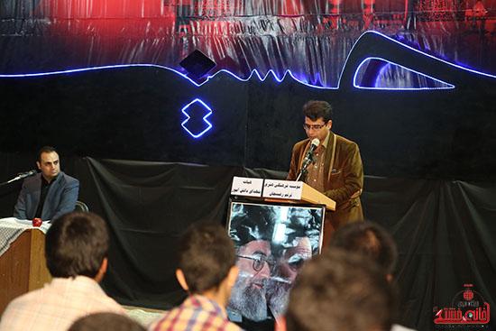 دوربین خانه خشتی در ششمین شب شعر محرم در رفسنجان
