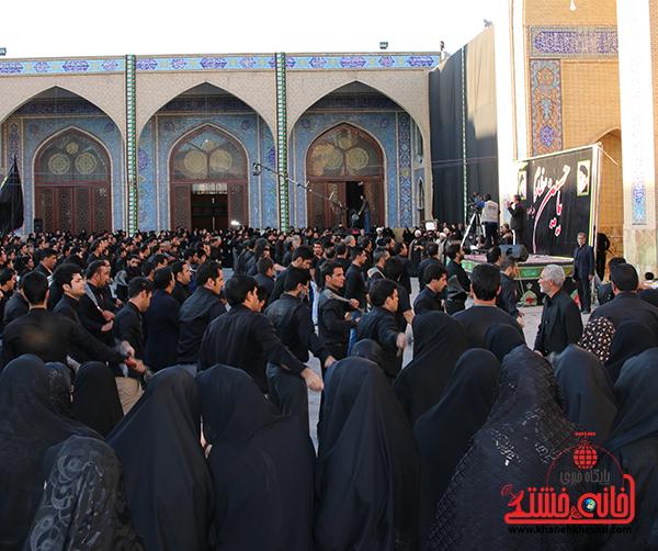 اجتماع هیئت های عزاداری در مسجد جامع  رفسنچان1