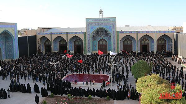اجتماع هیئت های عزاداری در مسجد جامع  رفسنچان10