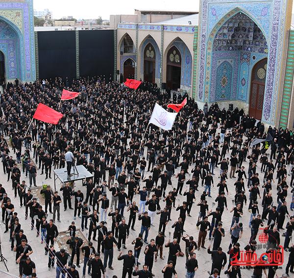 اجتماع هیئت های عزاداری در مسجد جامع  رفسنچان14