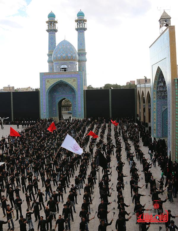 اجتماع هیئت های عزاداری در مسجد جامع  رفسنچان15