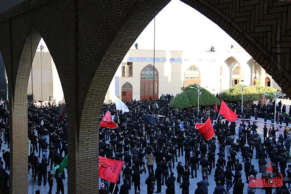 اجتماع هیئت های عزاداری در مسجد جامع  رفسنچان5