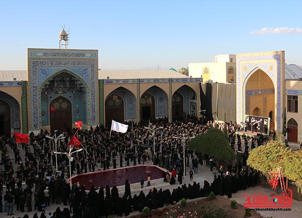 اجتماع هیئت های عزاداری در مسجد جامع  رفسنچان6