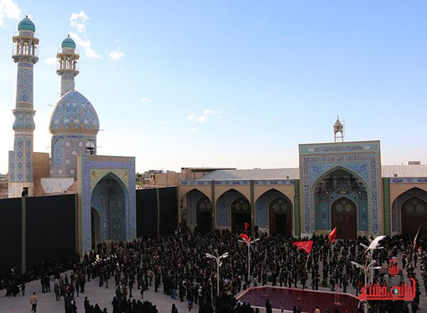 اجتماع هیئت های عزاداری در مسجد جامع  رفسنچان8