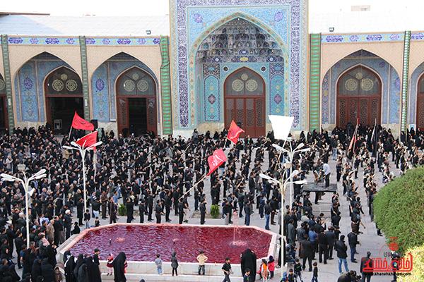 اجتماع هیئت های عزاداری در مسجد جامع  رفسنچان9