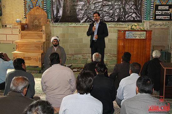 بازدید فرماندار از پروژه های بخش نوق رفسنجان-خانه خشتی (9)