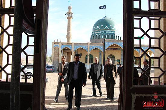 بازدید فرماندار از پروژه های بخش نوق رفسنجان-خانه خشتی