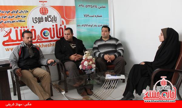 بازدید منصور پورمیرزایی و سعید اکبری از سایت خانه خشتی رفسنجان3
