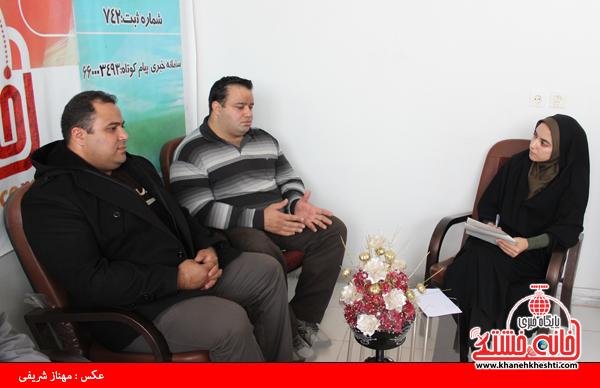 بازدید منصور پورمیرزایی و سعید اکبری از سایت خانه خشتی رفسنجان4