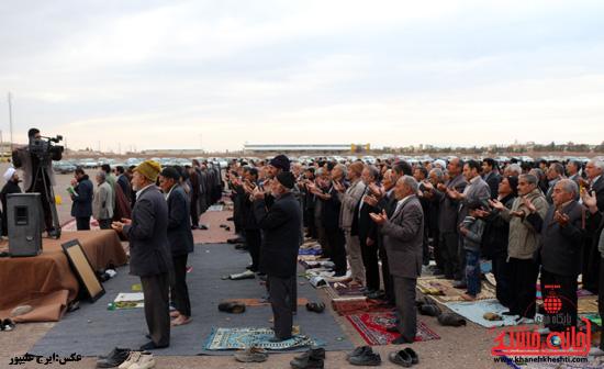 برگزاری نماز استسقاء باران در مصلی رفسنجان (7)