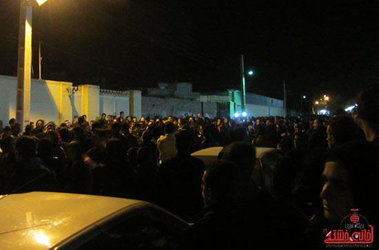 تجمع هواداران مرتضی پاشایی در پارک مادر رفسنجان+تصاویر