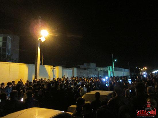تجمع هواداران مرتضی پاشایی در پارک مادر رفسنجان (3)