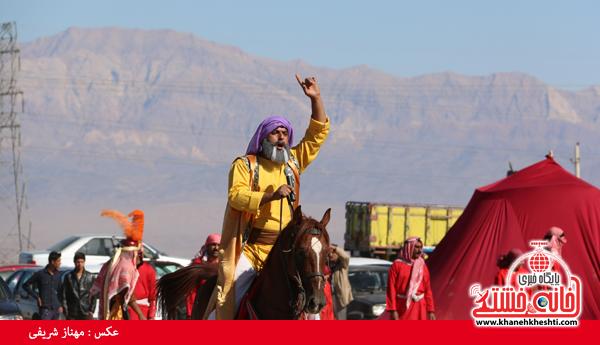 تعزیه هیئت علمدار کربلا در روستای ناصریه رفسنجان