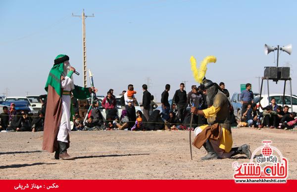 تعزیه هیئت علمدار کربلا در روستای ناصریه رفسنجان1