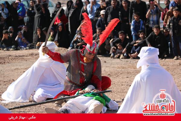تعزیه هیئت علمدار کربلا در روستای ناصریه رفسنجان13