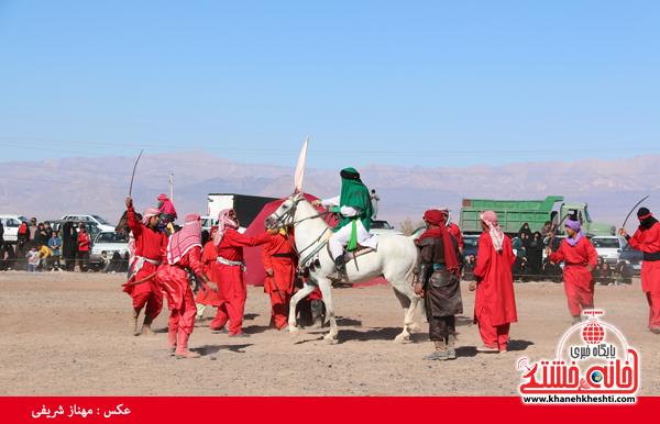 تعزیه هیئت علمدار کربلا در روستای ناصریه رفسنجان14